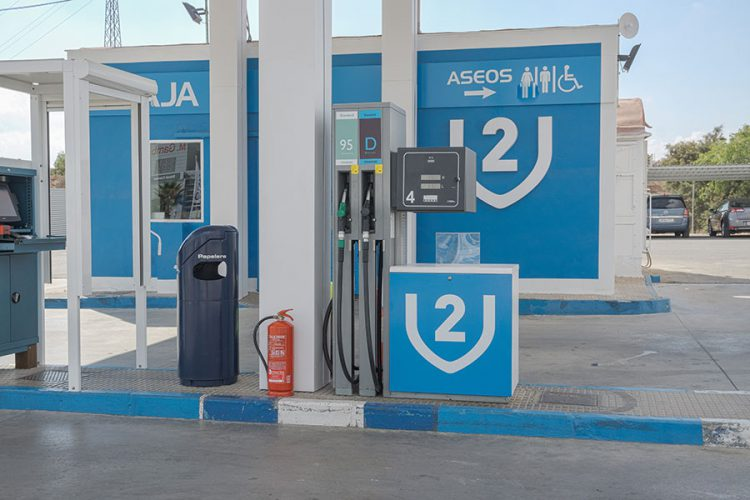 V2 Gasolineras Cabezo Cortado Murcia